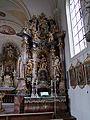 St. Michael Stockheim - Langhaus südlicher Seitenaltar.JPG