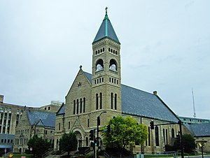 James J. Egan - Image: St Ambrose Des Moines