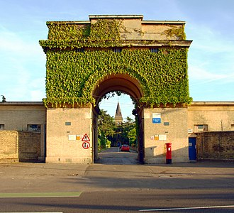 St Bernard's Hospital, Hanwell - The Gatehouse to the hospital