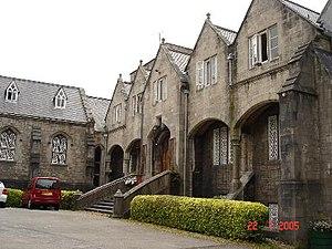 St Beuno's Jesuit Spirituality Centre - Image: St Beuno's courtyard geograph.org.uk 29546
