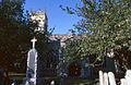 St Clement's Parish Church and war memorial, Outwell - geograph.org.uk - 64995.jpg