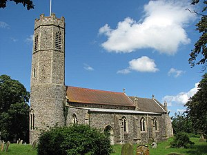 Rollesby - Image: St George's Church geograph.org.uk 855320