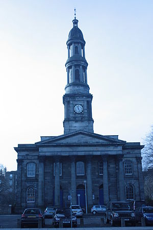 Thomas Brown (architect) - St Mary's Bellevue, Edinburgh by Thomas Brown