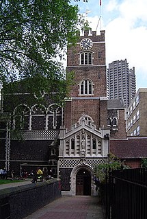 St Bartholomew-the-Great Church in London