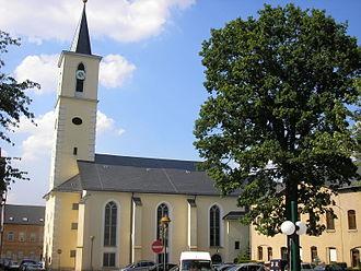 Schleiz - Church in Schleiz