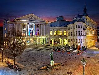 Stadttheater Batzenhäusl in Baden bei Wien