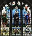 Stained glass window at St Mary's church, Teddington (1).jpg