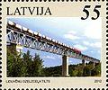 Stamps of Latvia, 2012-28.jpg