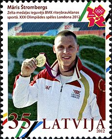 Stamps of Latvia, 2012-34.jpg