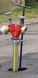 Standrohr unterflurhydrant