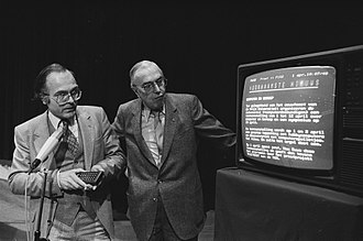 Teletext - Teletext launch in Amsterdam, 1980