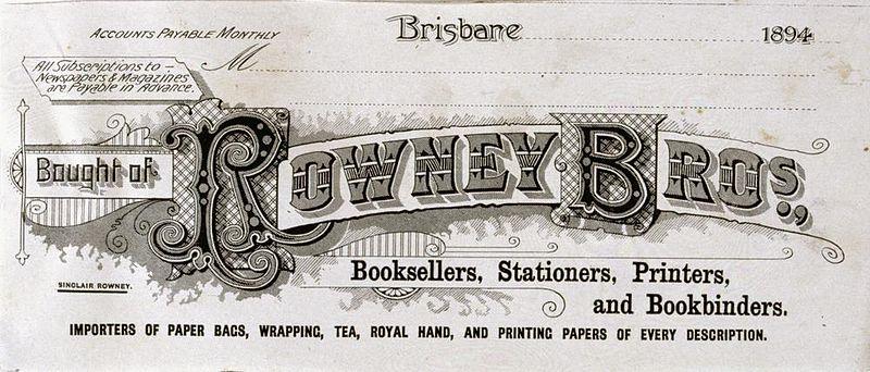 File:StateLibQld 2 195231 Rowney Bros. receipt, 1894.jpg