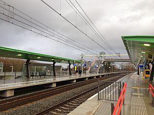 Halfweg-Zwanenburg railway station - Image: Station Halfweg Zwanenburg