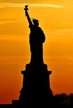 Statue of Liberty, Silhouette.jpg