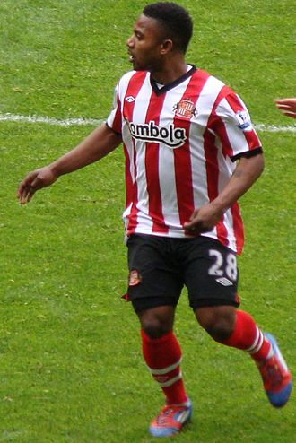 Stéphane Sessègnon - Sessègnon playing for Sunderland in 2012