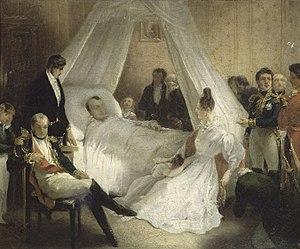 Charles de Steuben - Image: Steuben Mort de Napoleon