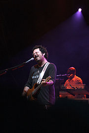 Steve Lukather and Greg Phillinganes live in 2007
