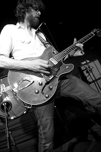 Mudhoney - Lead guitarist Steve Turner in 2007