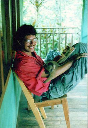 Steven Rubenstein - Steven Rubenstein in Macas, Ecuador in 1988