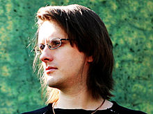Description de l'image Steven Wilson on 19 September 1989.jpg.