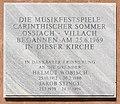 Stift Ossiach Pfarrkirche Mariae Himmelfahrt Gedenktafel 08072015 5693.jpg