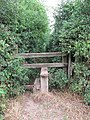 Stile by Boon Hills Wood - geograph.org.uk - 211509.jpg