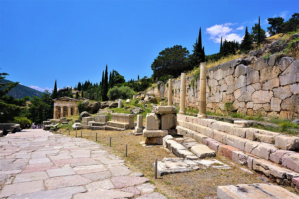 Stoa of the Athenians at Delphi