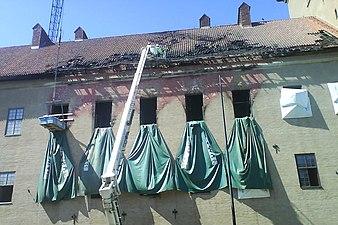 Branden pa arkitekturskolan var olycka