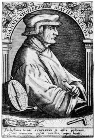 Johannes Stöffler - Johannes Stöffler (Ioannes Stoflerus)