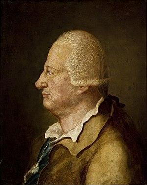 Henry Ernest of Stolberg-Wernigerode - A 1773 portrait of Henry Ernest
