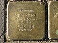 Stolperstein Anna Sichel, 1, Malsburgstraße 12, Vorderer Westen, Kassel.jpg