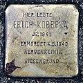 Stolperstein Eichborndamm 238 (Wittn) Erich Korepka.jpg