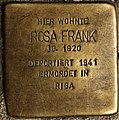 Stolperstein Göppingen, Rosa Frank.jpg