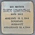 Stolperstein für Guido Lowenthal (Ancona).jpg