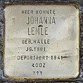 Stolperstein für Johanna Lemle (Köln).jpg