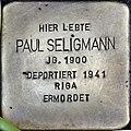 Stolpersteine Köln, Paul Seligmann (Lübecker Straße 22).jpg