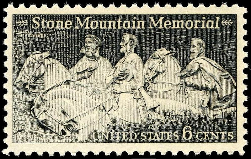 Stone Mountain Memorial 6c 1970 issue.JPG