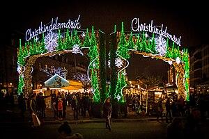 Christkindelsmärik, Strasbourg - The Strasbourg Christkindelsmärik (Place Broglie)