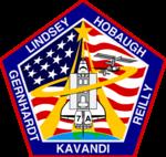 Missionsemblem STS-104
