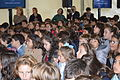 Students of La Corolla school students Gijon-Asturias-Spain 2015.JPG