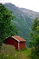 Stuga i fjallnatur i Nordnorge, Johannes Jansson.jpg
