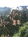 Stunning rock formations from the top of Bailong (白龙), in the Yuanjiajie (袁家界)scenic area.jpg