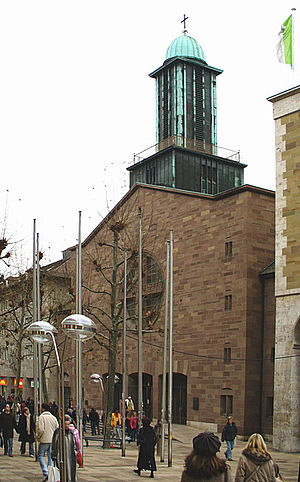 Roman Catholic Diocese of Rottenburg-Stuttgart - St. Eberhard's Co-Cathedral, Stuttgart