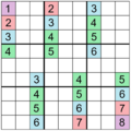 Sudoku Puzzle (automorphic with translational symmetry).png