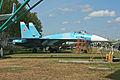 Sukhoi T-10 Flanker-A 10 blue (9987131666).jpg