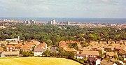Sunderland - taken from Tunstall Hill, August 1989