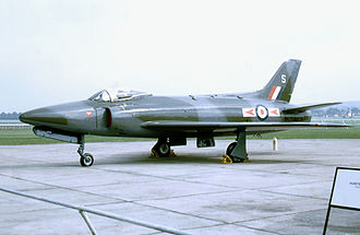Supermarine Swift - Swift FR.5 WK281 wearing the markings of No. 79 Squadron RAF