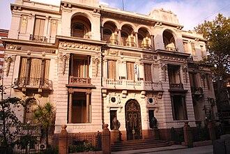 Palacio Piria - Palacio Piria, seat of the Supreme Court