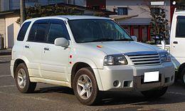 Suzuki Escudo Helly Hansen