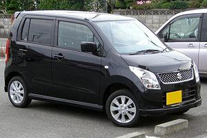 Suzuki Wagon R - Image: Suzuki Wagonr 2008